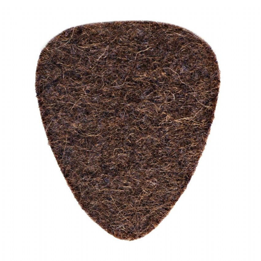 Felt Tones - Brown - 1 Ukulele Pick | Timber Tones